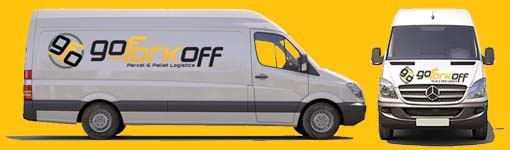 Go Fork Off Mercedes Van